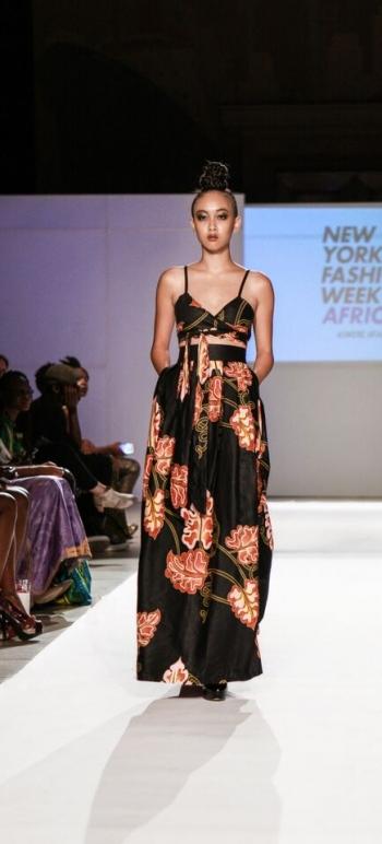 Asikere Afana New York Fashion Week Africa 3