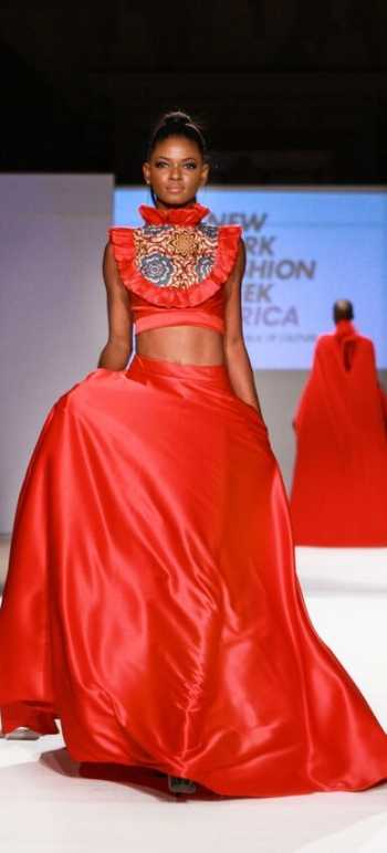 Dahil Republic of Couture New York Fashion Week Africa 5