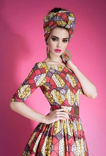 NAMIBIA DRESS PINK