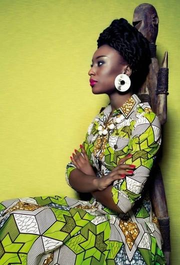 TANZANIA DRESS ACID STARS