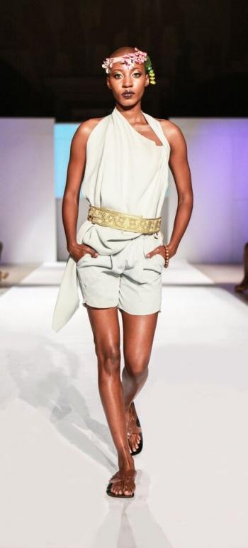 Sakia Lek New York Fashion Week Africa 8