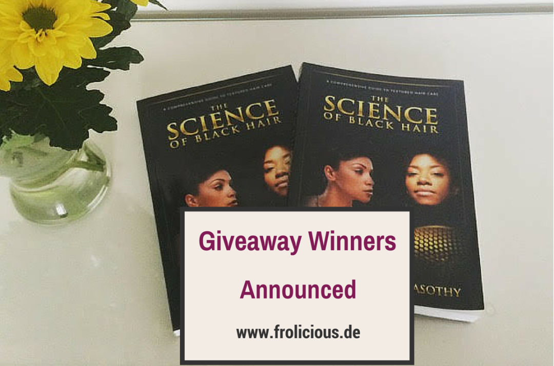 The Science of Black Hair Giveaway Winner