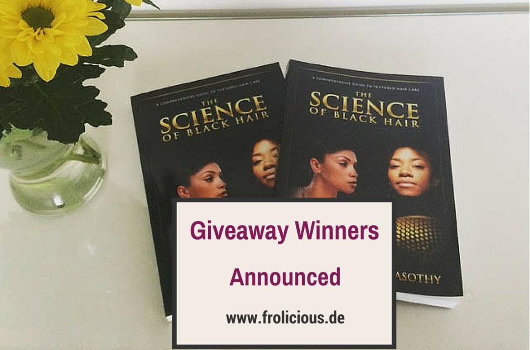 The Science of Black Hair Giveaway Winner