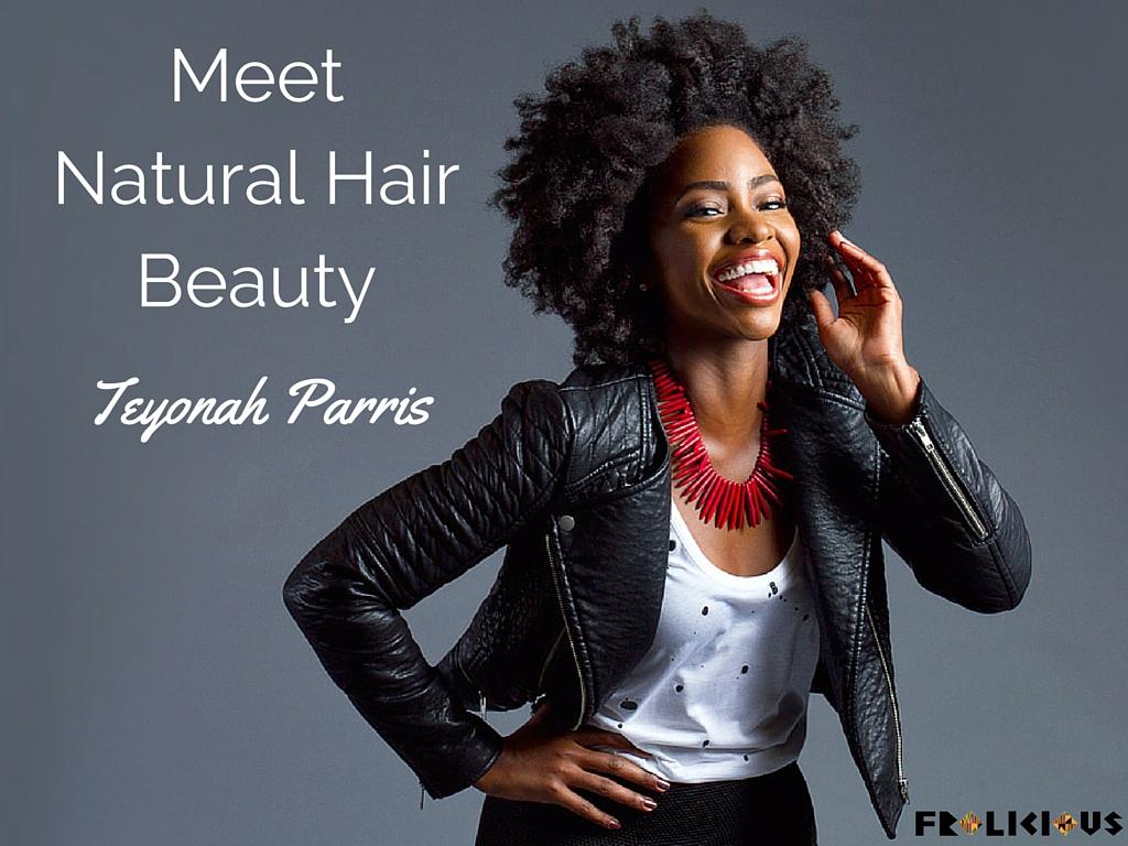 teyonah parris natural hair