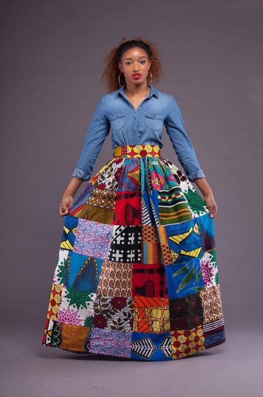 Grass-Fields_Abina Maxi Skirt
