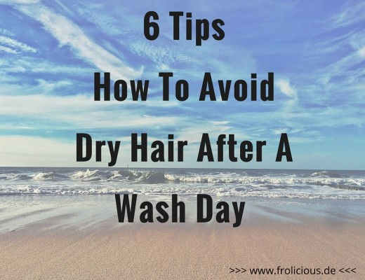 dry hair after washing