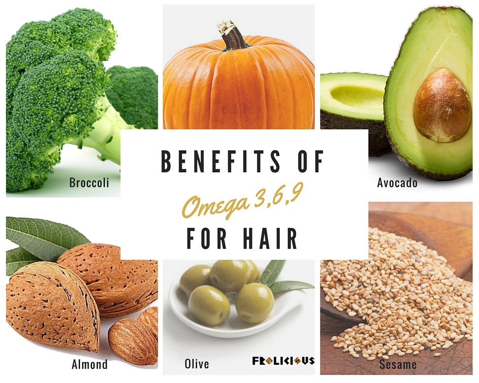 Importance of omega-3 for hair