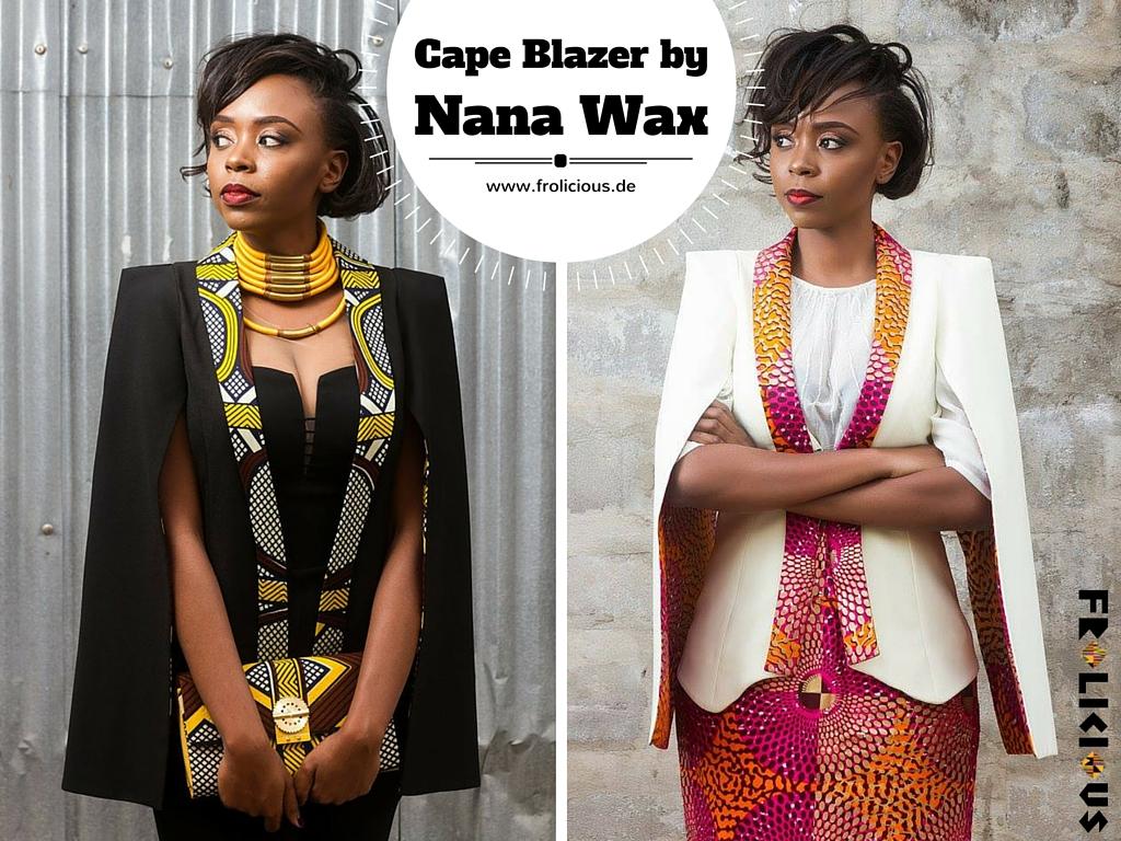 Cape Blazer von Nana Wax