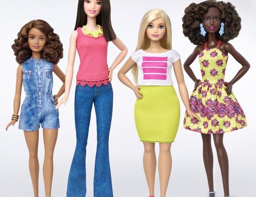 New barbie Fashionista dolls