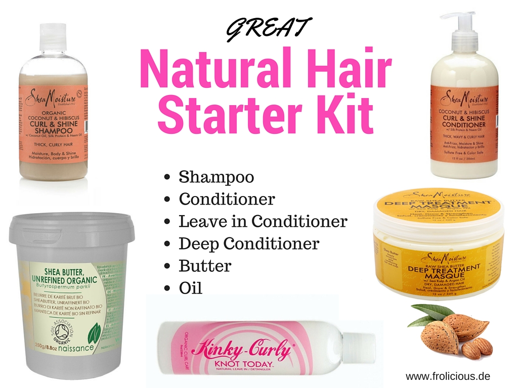 Natural Hair Starter Kit 1 - Frolicious | Natural Hair ...