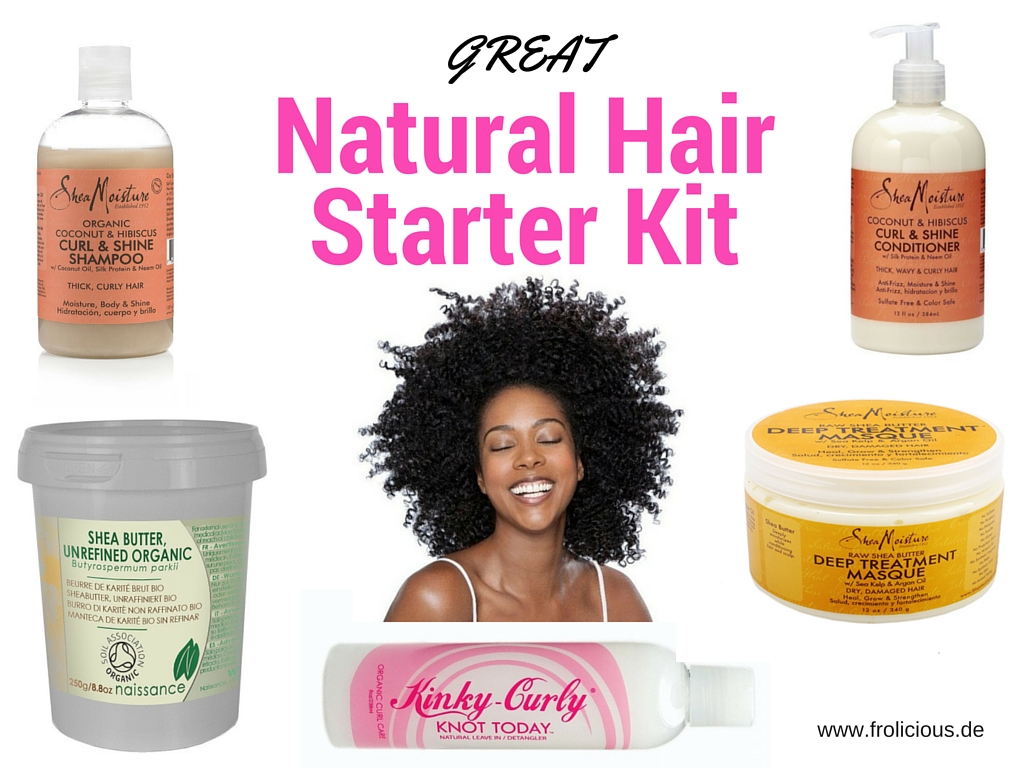 Best Products For Healthy Natural Hair