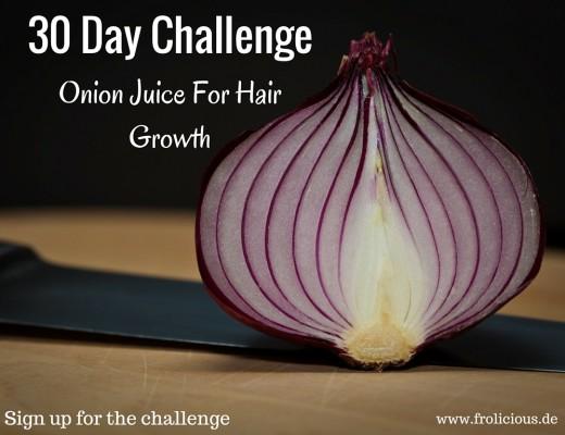 Onion Juice Increases Healthy Hair Growth