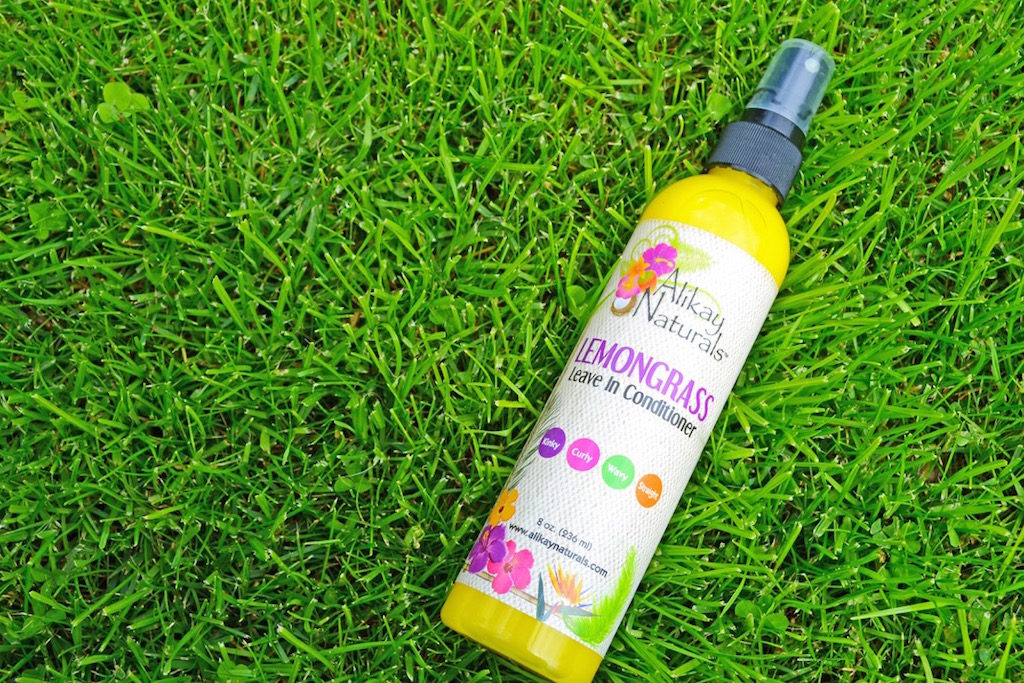 Lemongrass Leave-In Conditioner - Lemongrass Leave in Conditioner von Alikay Naturals