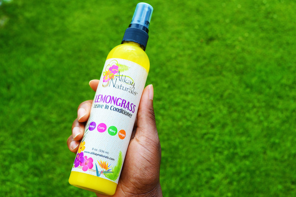 Alikays Lemongrass Leave-In Conditioner - Lemongrass Leave in Conditioner von Alikay Naturals
