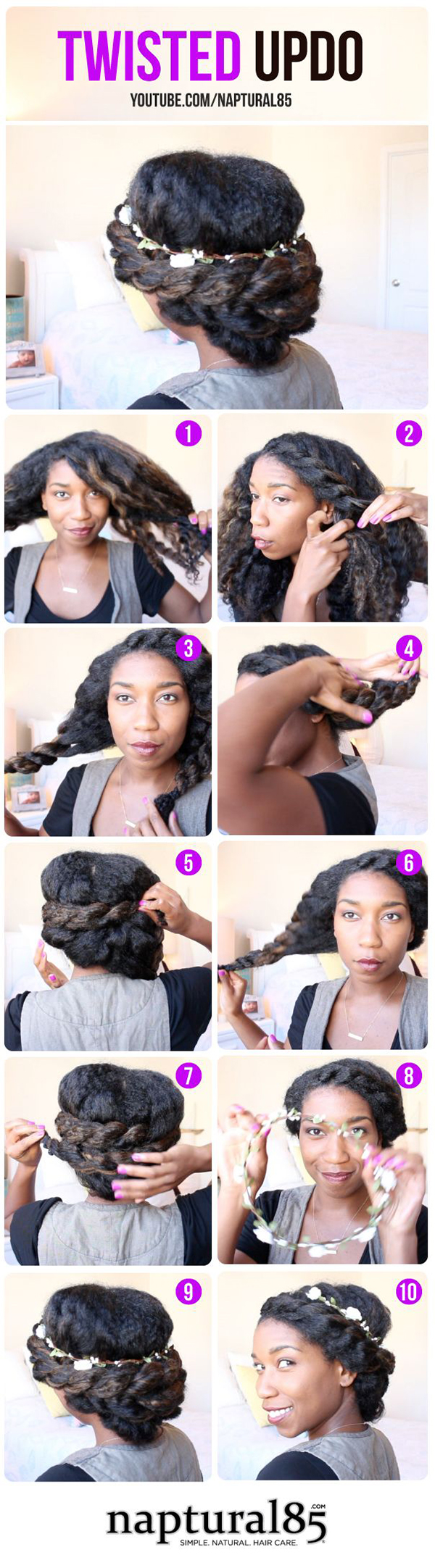 8 Cute No Heat Summer Protective Hairstyles Frolicious Natural