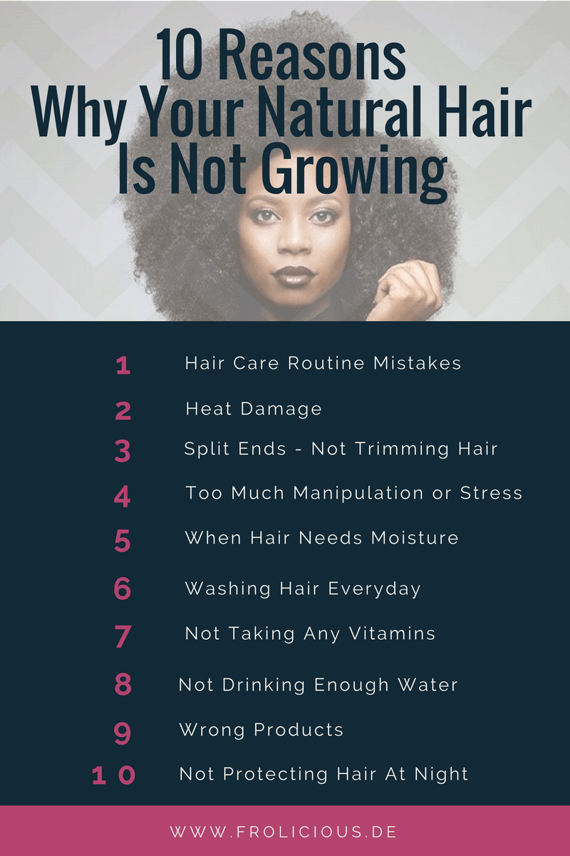 Your natural hair is not growing