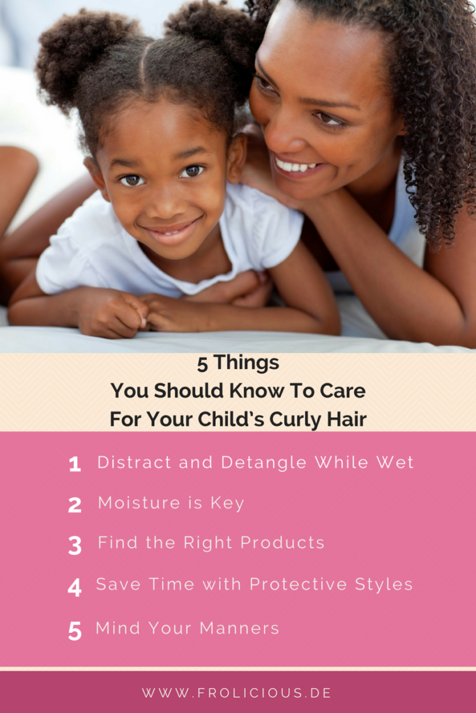 5 Things You Should Know To Care For Your Child's Curly Hair Kopie
