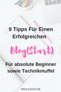 Einen Blog starten