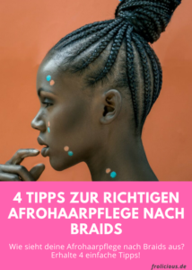 Afrohaarpflege nach Braids