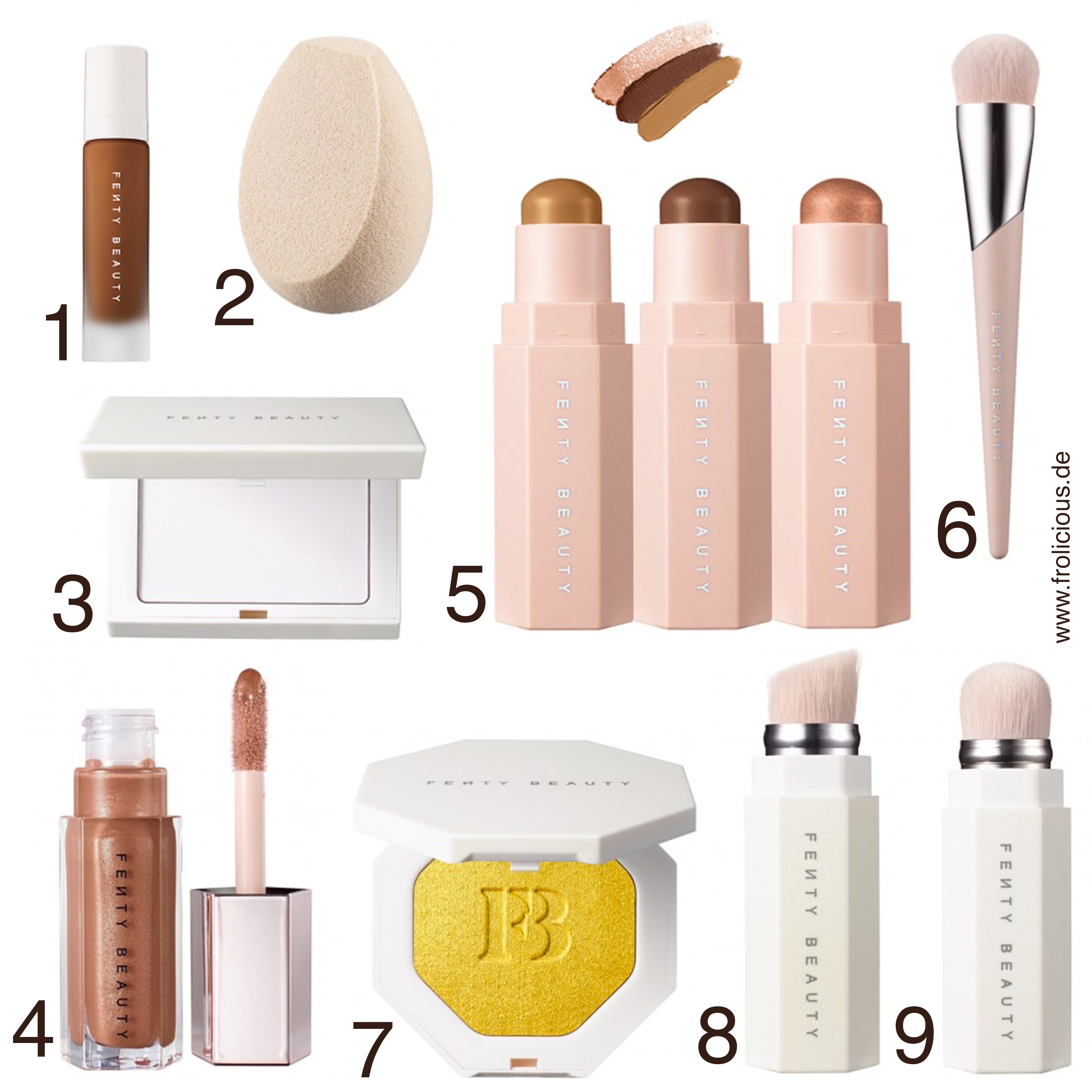 First Impression Of The Makeup Line Fenty Beauty By Rihanna