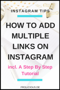 Add multiple links on instagram
