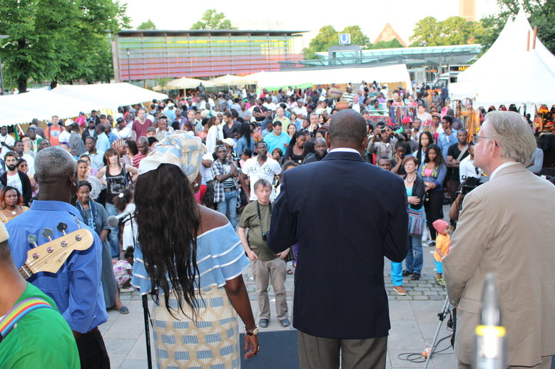 African Day 2015 in Hamburg