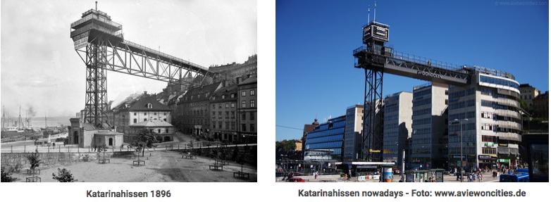 Ostern in Stockholm_Gamla Stan from Katarinahissen