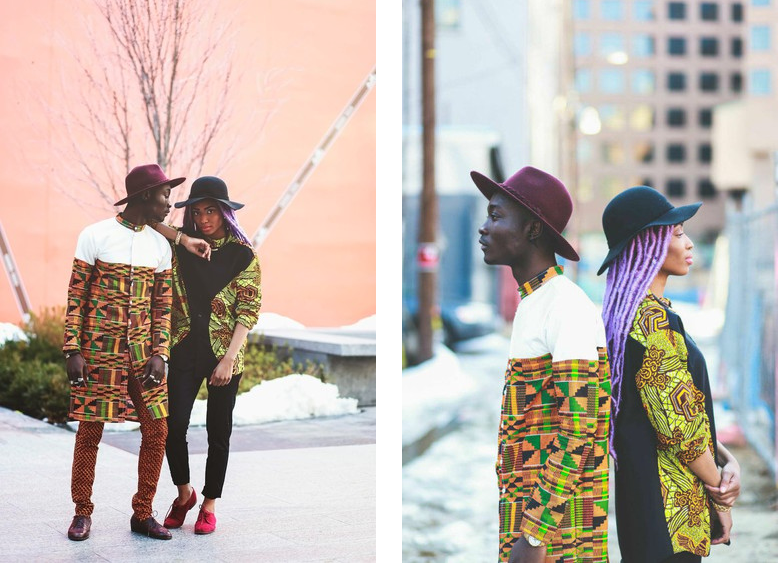 Ankara & Kente Fashion Artwork 990