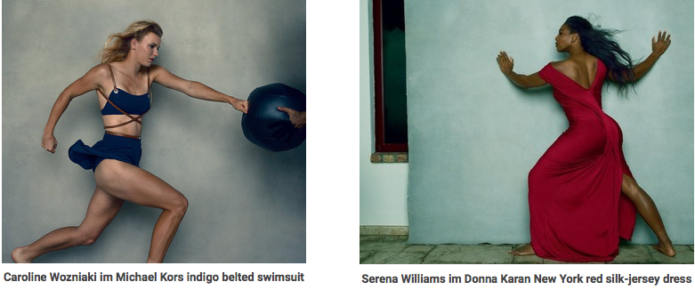Serena Williams for Vogue