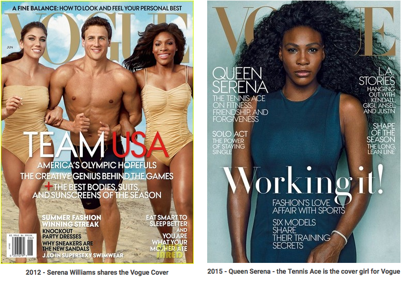 Serena WIlliams for Vogue