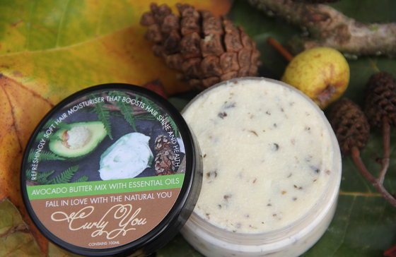 Curly You Avocado Natural Hair Butter