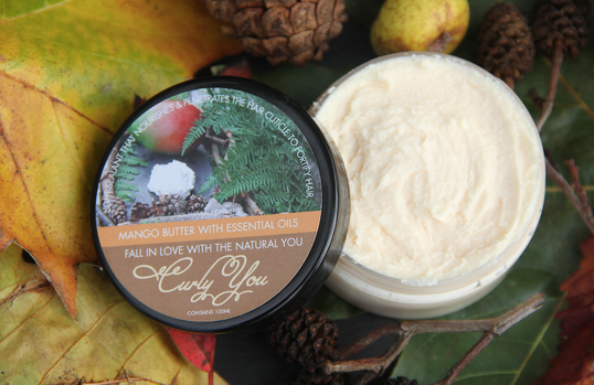 Curly You Mango Natural Hair Butter