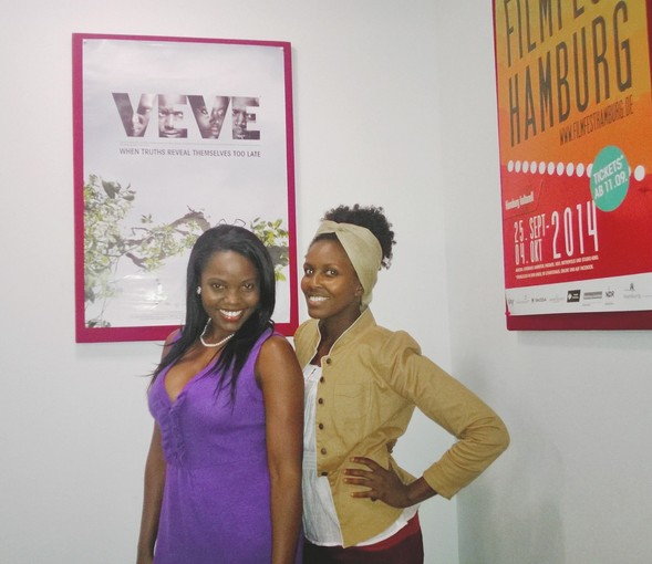 Esther (Lizz Njagah) and Jen Founder of Frolicious