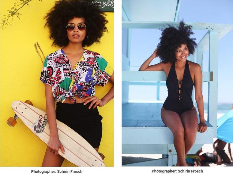 Paula Almeida Fashion Model
